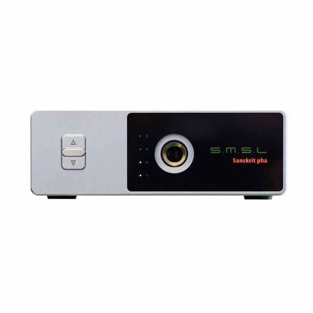 SMSL Санскрит Pro pha HIFI НИМИ предусилителя Машина Аудио Наушников Усилитель Алюминиевый Корпус Цифровой Стерео наушники усилитель