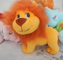 Русский язык интеллектуальные принимая лев куклы, электронные игрушки для животных, Интеллектуальной русский игрушки Рождественский подарок для детей