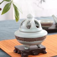 antique Ceramic incense burner Restore ancient ways your kiln embossment aroma stove Variable glaze antique sank sandalwood