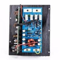Leroy dc 12 v 10 Polegada subwoofer mp3 decodificação placa amplificador para o carro alto-falante casa amplificador