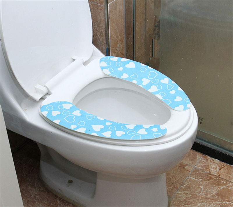 toilet seat lid covers. Toilet Seat Cover Soft WC Paste Pad Bathroom Warmer Lid  Closestool In Covers From Home Garden On