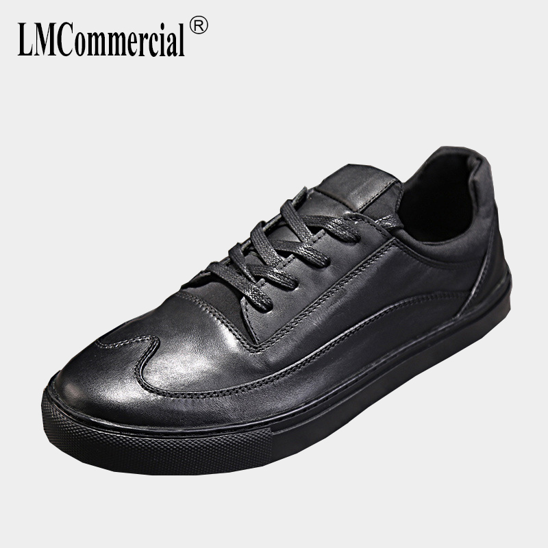 casual shoes men spring and autumn summer Genuine Leather men's shoes all-match cowhide breathable sneaker fashion male British autumn winter european british retro men shoes male leather breathable sneaker fashion boots men casual shoes handmade fashion