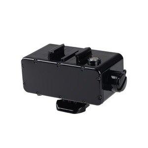 Водонепроницаемый внешний аккумулятор + защитный корпус для дайвинга, зарядка для GoPro Hero 7 5 6 Hero 4 3 + 3, комплект для съемки подводного аккумуля...