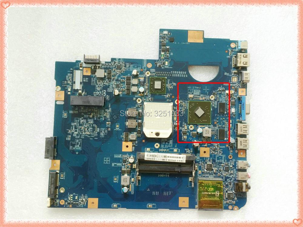 For ACER Aspire 5536G NOTEBOOK 5236 Series 5536G-642G32MN Motherboard 48.4CH01.021 MS2265 DDR2 08252-2 JV50-PU 100% Tested