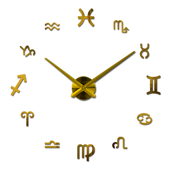 new fashion diy wall clock europe 3d big quartz watch clocks living room large home decorative still life circular stickers 1