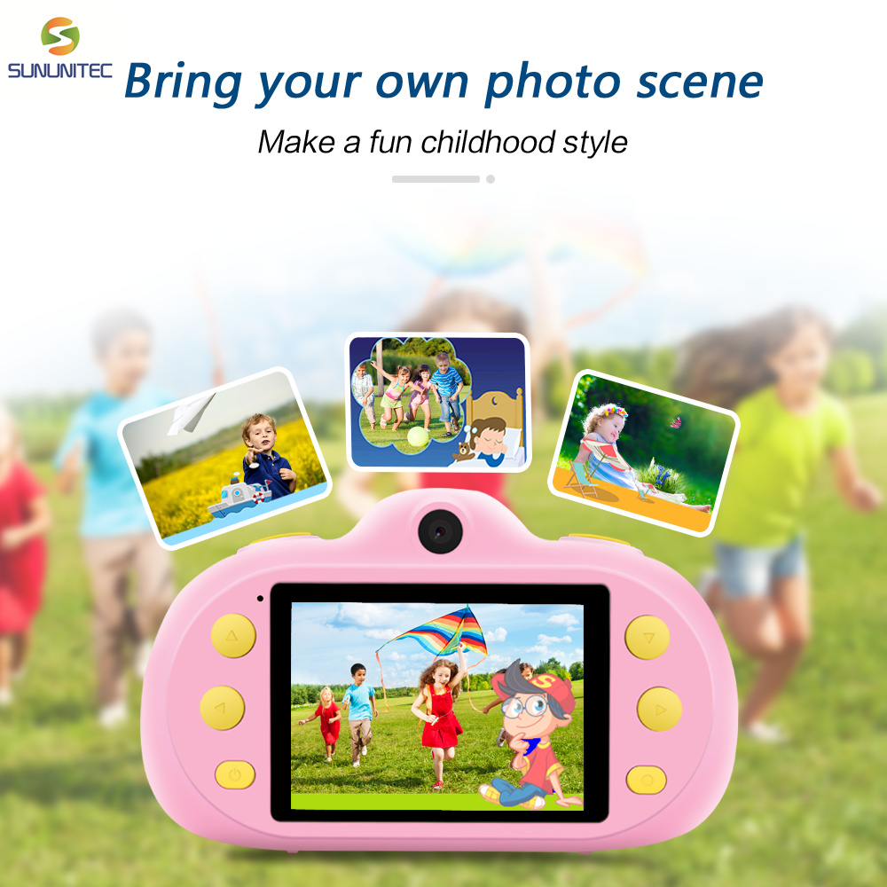 Mini Digital Kids Camera Children Birthday Toy Camera Cute Camera Gift Free Shipping Hot Sale For Children Best Education Toy