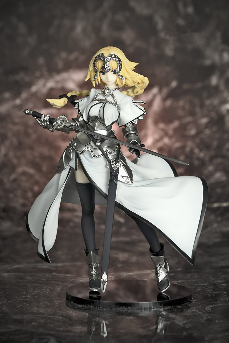 Fate/Apocrypha Jeanne d'Arc Saber White & Black Ruler Ver. 1/8 Scale Painted Figure Collectible Model Toy KT2996 fate stay night unlimited blade works king of knights saber 1 7 scale pre painted figure collectible toy 25cm
