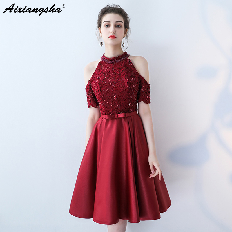 Detail Feedback Questions about Celebrity Dresses vestido de festa 2018  Plus Size New Vintage Half Sleeve Lace Pearls Red Carpet Dresses Sereia  Dress ... 120d209e3fa3