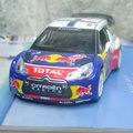 Brand New 1/26 Scale Racing Car Model Toys Citroen C4 DS3 WRC Diecast Metal Pull Back Flashing Musical Car Toy For Gift/Kids