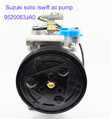 Embrayage de compresseur pour Suzuki Solio Swift 9520063JA0 9520063JA1 110mm 4PKEmbrayage de compresseur pour Suzuki Solio Swift 9520063JA0 9520063JA1 110mm 4PK