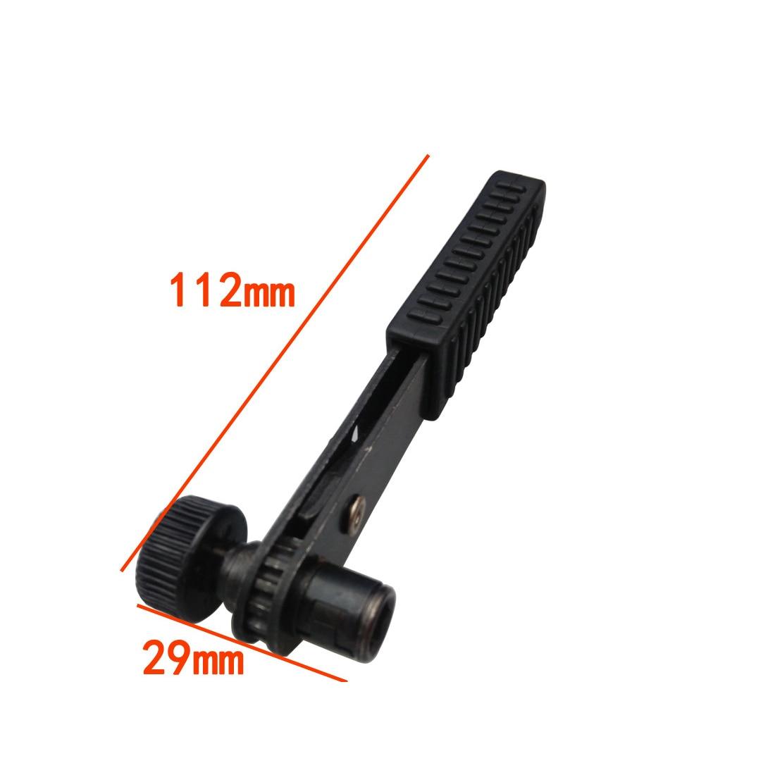 "Mini 1//4/"" Ratchet Wrench Screwdriver Socket Wrench Rods 6.35 mm Socket Black"