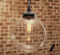 Industrial lights vintage E27 EDISON lamp Suspension coffee bar glass country iron free shipping