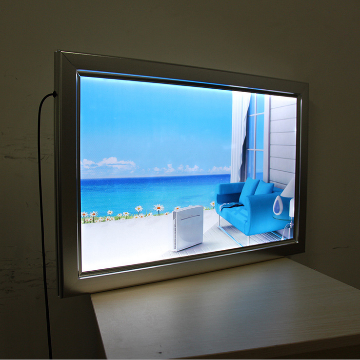 a2 size led slim advertising light boxes-in Advertising