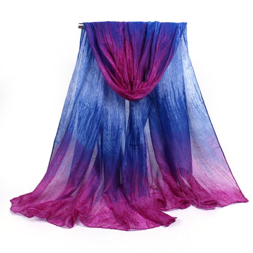 Creative Multifunctional Women Lady Meteor Shower Pattern Shawl Wrap Wraps Scarf Scarves ponchos capes beach towel swimwear