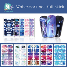 Rocooart Nail Stickers on Nails Bling Art For Owl Eyes Water Transfer Decals DIY Manicur