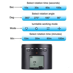 Image 5 - Electronic Panorama Ball Tripod Head for GoPro/Smartphones/Digital Cameras/DSLRs Electric Adapter For DJI Osmo Action Camera