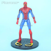 7 The Amazing SpiderMan 2 Action Figures Toy Spider man PVC Figure Doll toys for kids