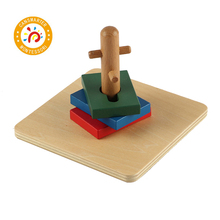 Montessori Kids High Quality Wooden Educational Toy Twist&Sort