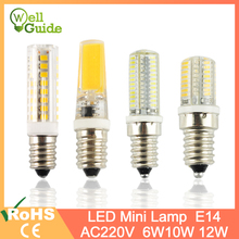 Mini E14 LED Bulb Light 6W 9W 10W 12W 220V Led Lamp Cool Warm White Candle Spotlight Lampada Ampoule Bombilla Lampara