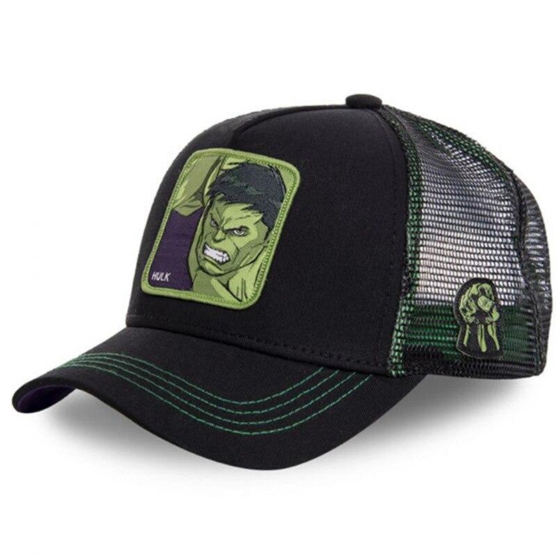 New Marvel HULK Hat High Quality Snapback   Cap   Cotton   Baseball     Cap   For Men Women Hip Hop Dad Hat Trucker Mesh Hat Dropshipping