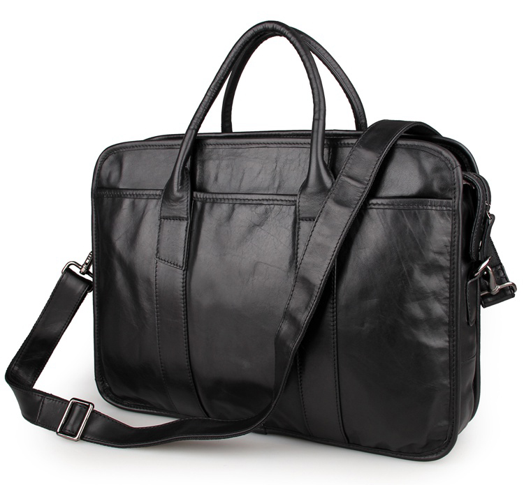JMD Hight Quality Vintage Genuine Leather Briefcase Multifunction Men s Laptop Bag 7321