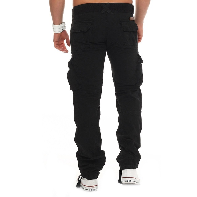 Army Military Pants Cotton Mutli Pockets Stretch Flexible Man Casual Trousers