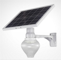 Outdoor garden LED solar lamp Decorative New and modern LED lawn light wall lamp porch lamp