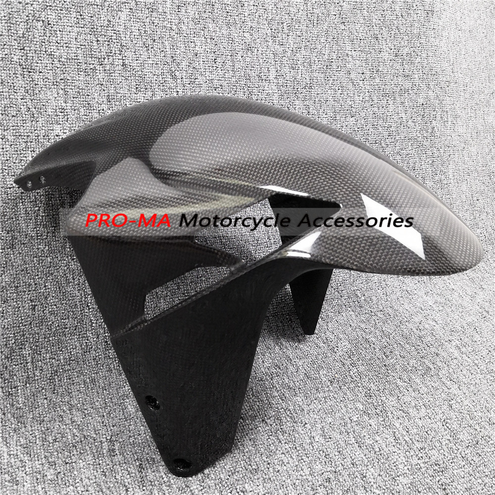 Front Fender in Carbon Fiber For MV Agusta F3 Brutale 675 800 2013 2015 Plain