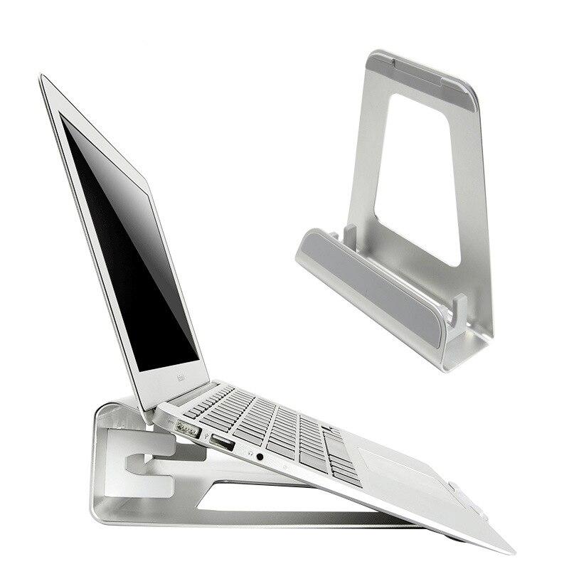 Nuevo ordenador portátil soporte aleación de aluminio Tablet PC soporte de refrigeración Base para Macbook Air Pro 11 12 13 15 pulgadas EM88