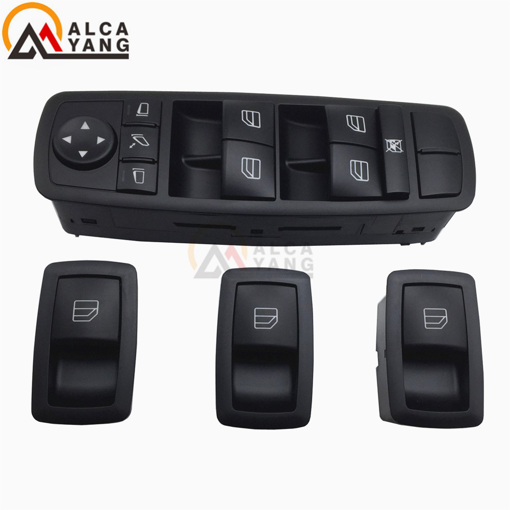 Master Power Window Switch 2518300290 A2518300290 A 251 830 02 90 For Mercedes W164 GL320 GL350 GL450 ML320 ML350 ML450 ML500 R(China)