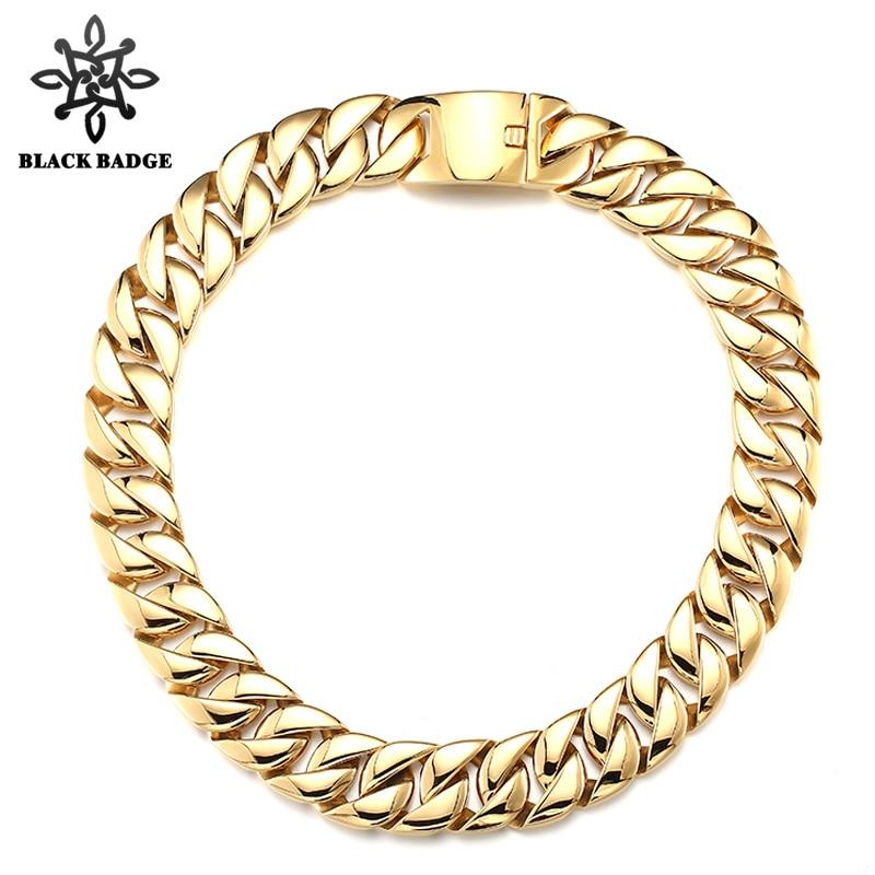 Здесь продается  Hip Hop Jewelry Cuban Link Chain 316L Stainless Steel Necklace For Men Fashion Simple Style Gold/Silver Charm Necklace Best Gift  Ювелирные изделия и часы
