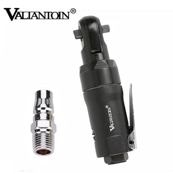 VALIANTOIN 1/4 ''Llave de trinquete neumático Mini herramientas de aire Llave de trinquete de aire herramientas de reparación de bicicleta de coche herramientas neumáticas de aire 3 colores