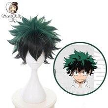 New Anime My Hero Academia Cosplay Wig Izuku Midoriya Boku No Academy Hair Deku Wigs