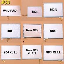 JCD Màn Hình Cảm Ứng Hiển Thị Bảng Điều Khiển Bộ Số Hóa Cho Nintend DS Lite NDSL NDS NDSi XL LL Cho 3DS XL LL WiiU MIẾNG LÓT tay cầm