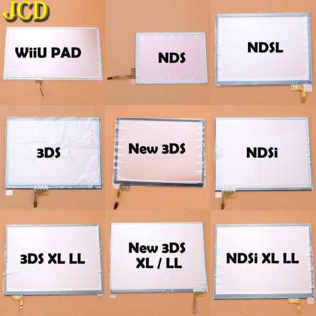 JCD digitalizador de pantalla de Panel táctil para Nintendo DS Lite NDSL NDS NDSi XL II, para consola 3DS XL LL Wiiu