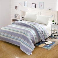 Simple Stripe Modern Style Student Child Adult Bedding 100 Cotton Twin Full Queen King Size Duvet