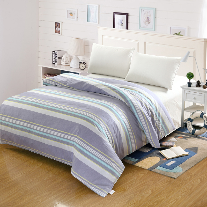 Simple Stripe Modern Style Student Child Adult Bedding 100