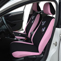 1 Sets Butterfly Fashion Style Front Rear Universal Car Seat Covers Luxury Cute Pink car styling