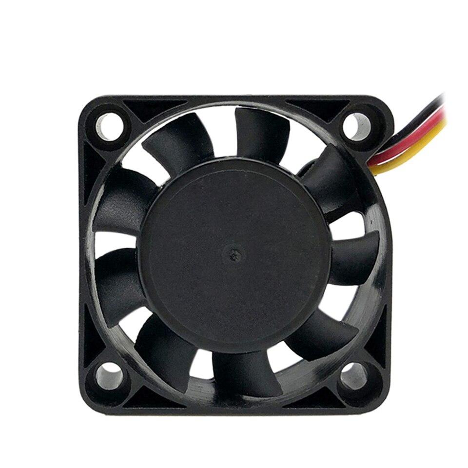3 Pieces F4010 40mm Mini Cooling Fan Pc Case Fan 12v Low