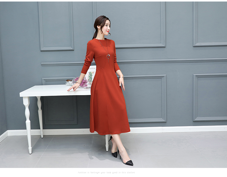 4a94a7ee43268 2018 Autumn Winter New Plus Size Vintage Black Midi Dresses Women Bodycon  Sexy Solid Maxi Dress Party Long Sleeve Runway Vestido