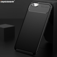 For iphone 6 6S 7 8 X XR XS MAX Case Carbon fiber TPU mobile phone back Cover For iphone 6 6S 7 8 Plus Shell Coque g case for iphone 7 leather skin plating tpu mobile back shell carbon fiber texture coffee