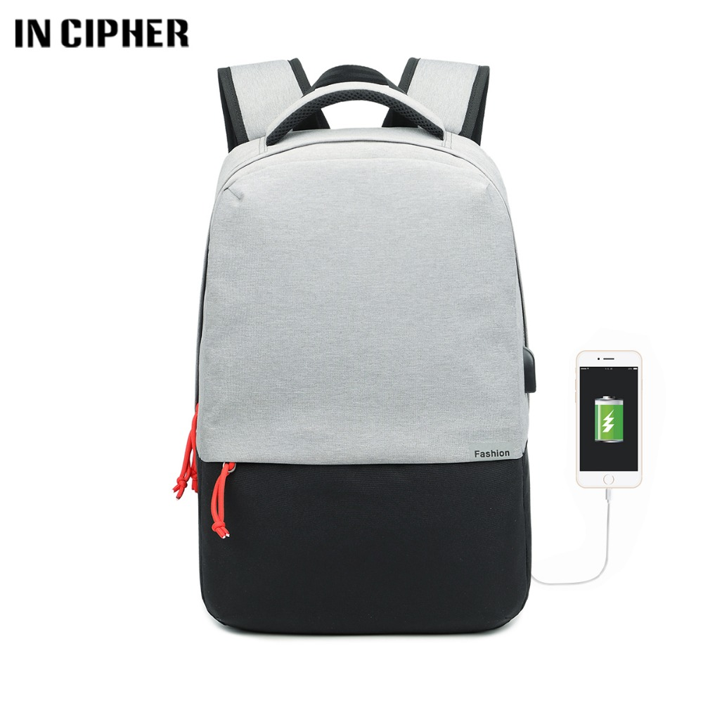 New 15.6 inch Laptop Backpack Male USB Business Anti Theft Backpack for Men Mochila Fashion Travel Backpacks School Bags new design usb charging men s backpacks male business travel women teenagers student school bags simple notebook laptop backpack