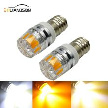 High quality E10 12V led instrument lights,E10 COB 2W bulb,24v indicating lamp e10 pilot free shipping 2pcs/lot