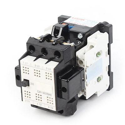 CJX1-32/22 DIN Rail Mount 220V 264V 3Pole 2NO+2NC AC Contactor