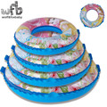 Over 3 years Max capability 40KG  Children kids Swim Ring Safety Lifebuoy Inflatable Floats Pool Summer water