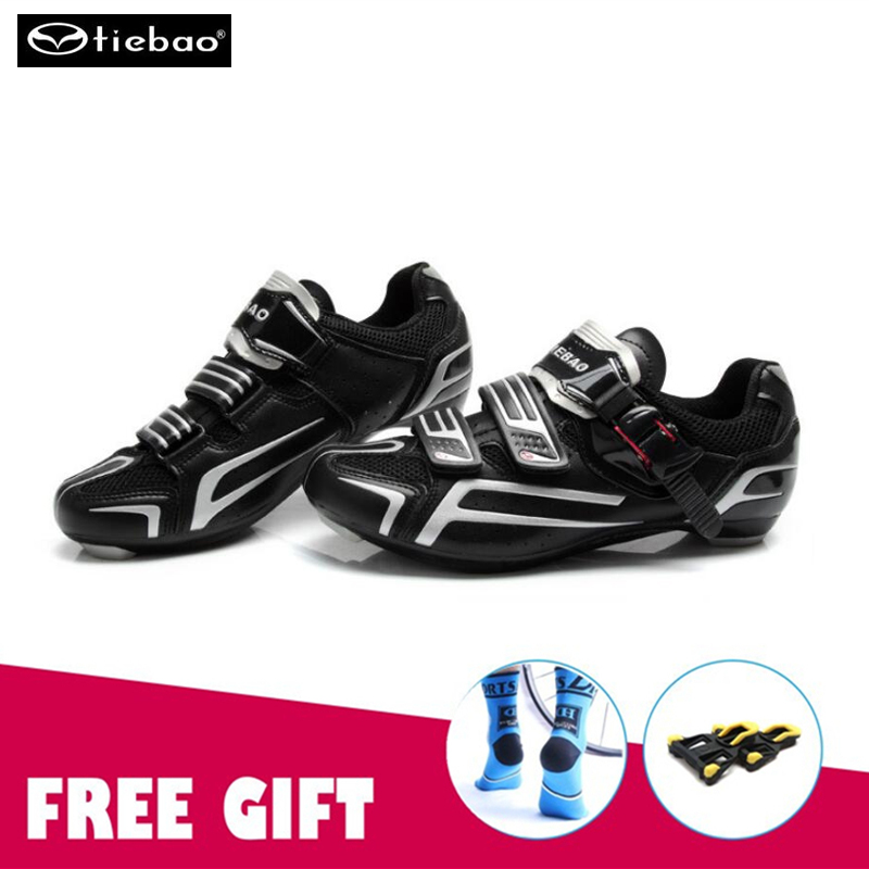 Tiebao cycling shoes road zapatillas ciclismo Road Bike Shoes Cycling Sneakers Athletic Racing Breathable Bicycle sapatilha inbike road cycling shoes men 2018 carbon fiber road bike shoes self locking bicycle shoe athletic sneakers sapatilha ciclismo