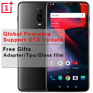 6.28 ''Oneplus 6 6G/8G RAM 128G/256G ROM Android 8.1 Octa Core Mobile Phone
