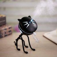 150ML Katze Ultraschall-luftbefeuchter Aromatherapie Diffusoren Diffusor USB Auto Lufterfrischer Home Mini Wasserfilter Led Lampe