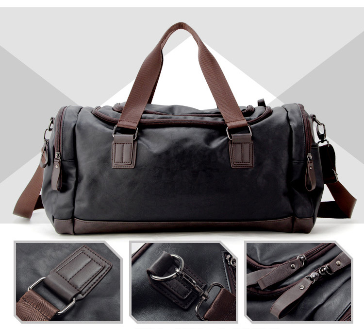 Topdudes.com - Large Capacity Fashionable Travel Duffel Bag