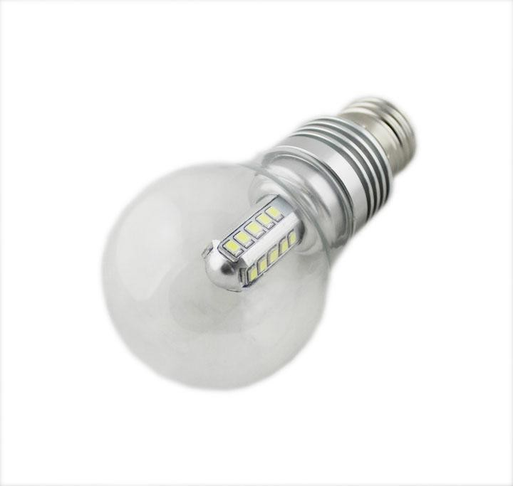 100pcs/lot High power led globe lampada led E27 7W AC 110V 220V SMD2835 LED Light lamp Bulb Warm White / Cold White